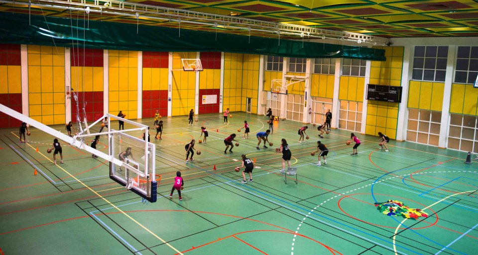 Basketball in Education City