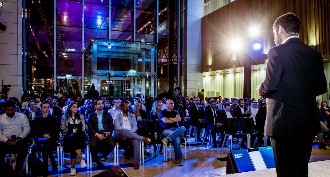 XLR8 - Tech Ideas Pitched to Experts at QSTP - 12