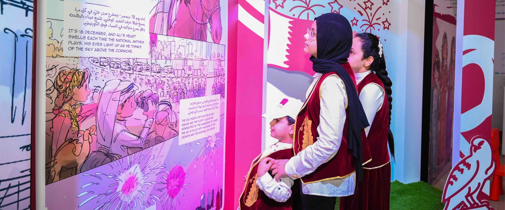 Identity and culture at the heart of Qatar Reads' Qatar National Day celebrations