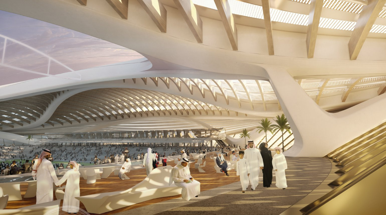 Stadiums - Qatar's Preparations - 2022 FIFA World Cup™ - Stadium Legacy