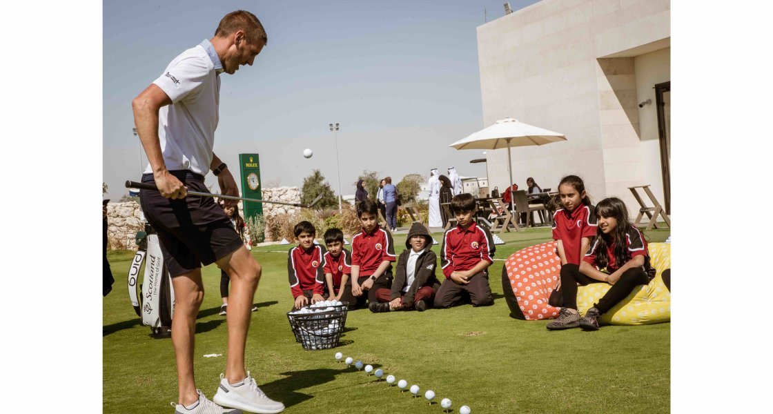 EC Golf Club Opening - QA Doha Students - 05