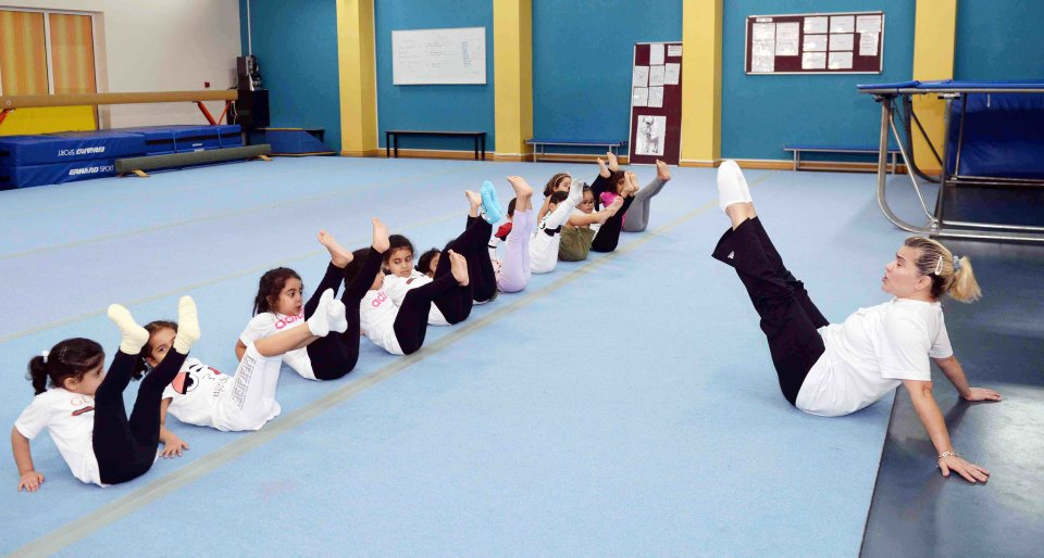 Gymnastics in Education City