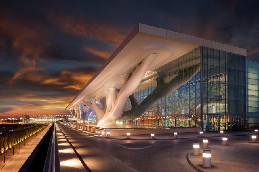 EDU032 - Hero image for Qatar National Convention Centre