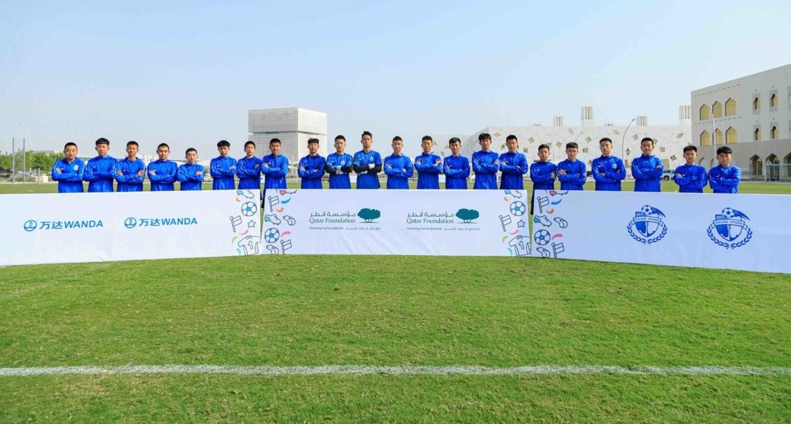 Chinese Youth Football Team Visit - 05