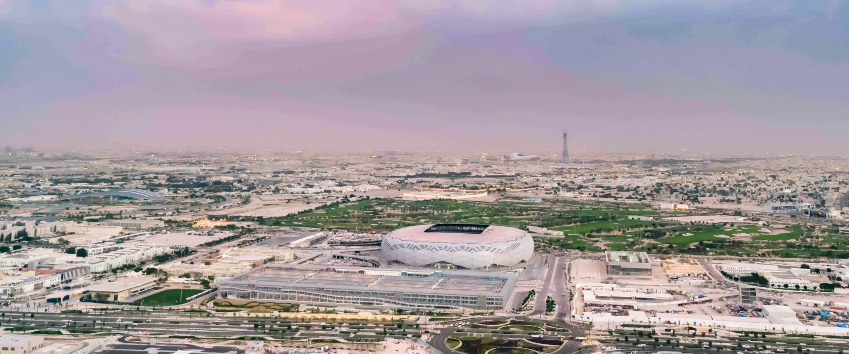Education City Stadium's completion marked during special programs