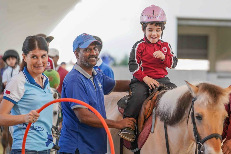 Al Shaqab's program offers specialized therapeutic lessons to children with Autism in Qatar - QF - 04