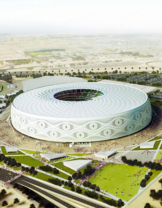 Al Thumama Stadium - highlight
