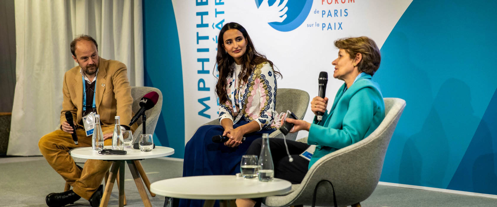 AI should be a gateway to personalized education, Her Excellency Sheikha Hind tells Paris Peace Forum