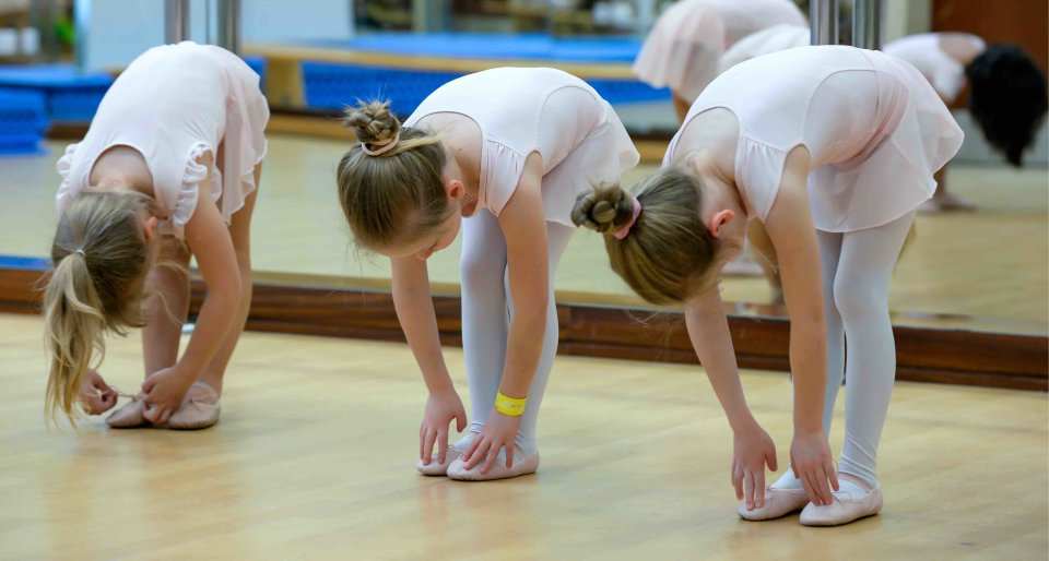 Ballet Class in Education City