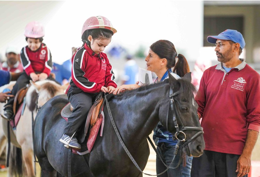 Al Shaqab's program offers specialized therapeutic lessons to children with Autism in Qatar - QF - 03