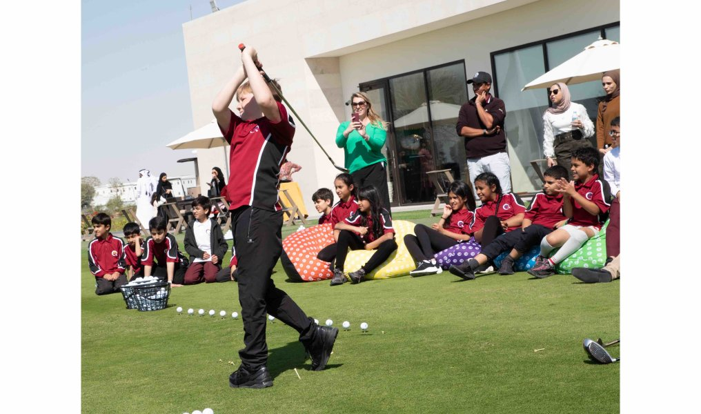 EC Golf Club Opening - QA Doha Students - 04