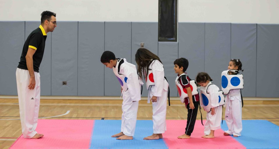 Kids Taekwondo Class in Education City