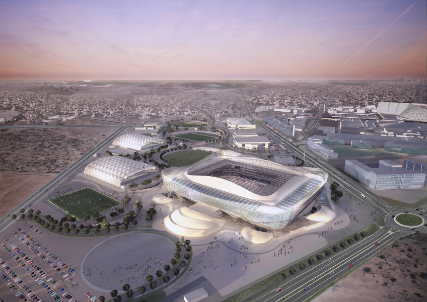 Stadiums - Qatar's Preparations - 2022 FIFA World Cup™ - Al Thumama Stadium