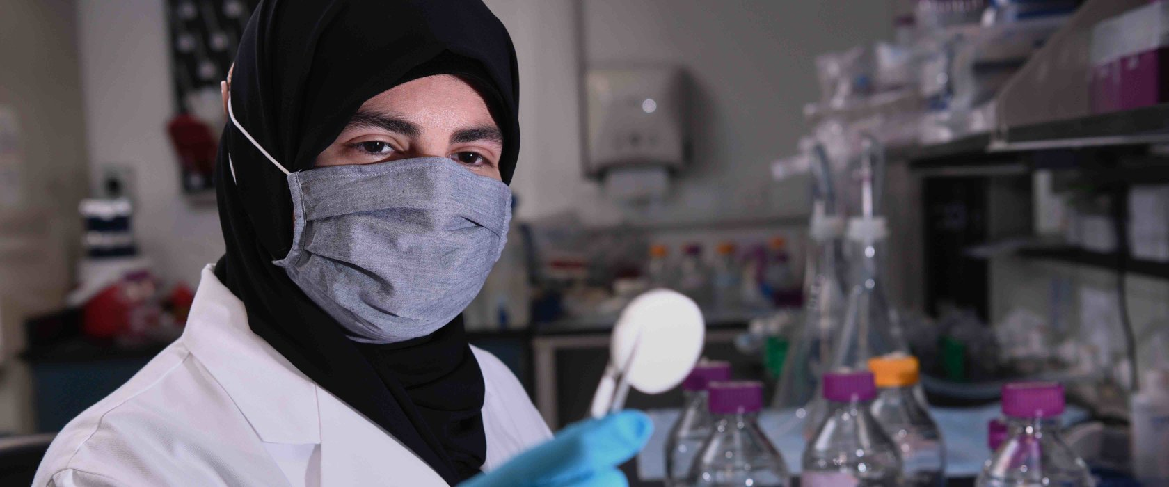 Young Arab woman scientist at QF is on a mission to improve drug development