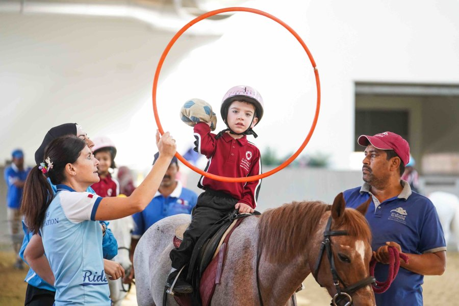 Al Shaqab's program offers specialized therapeutic lessons to children with Autism in Qatar - QF - 02