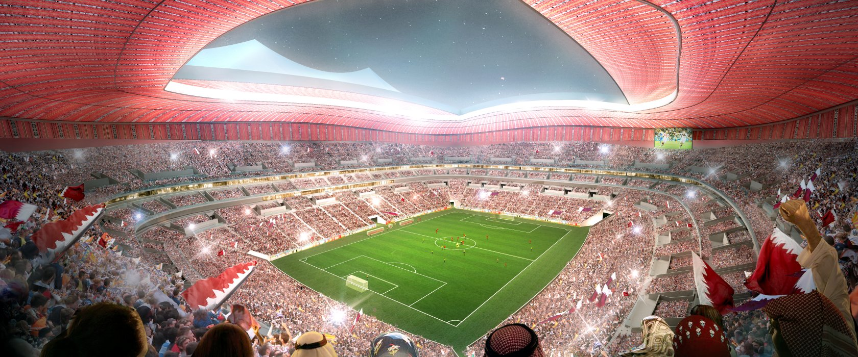 Stadiums - Qatar's Preparations - 2022 FIFA World Cup™ - Al Wakrah Stadium