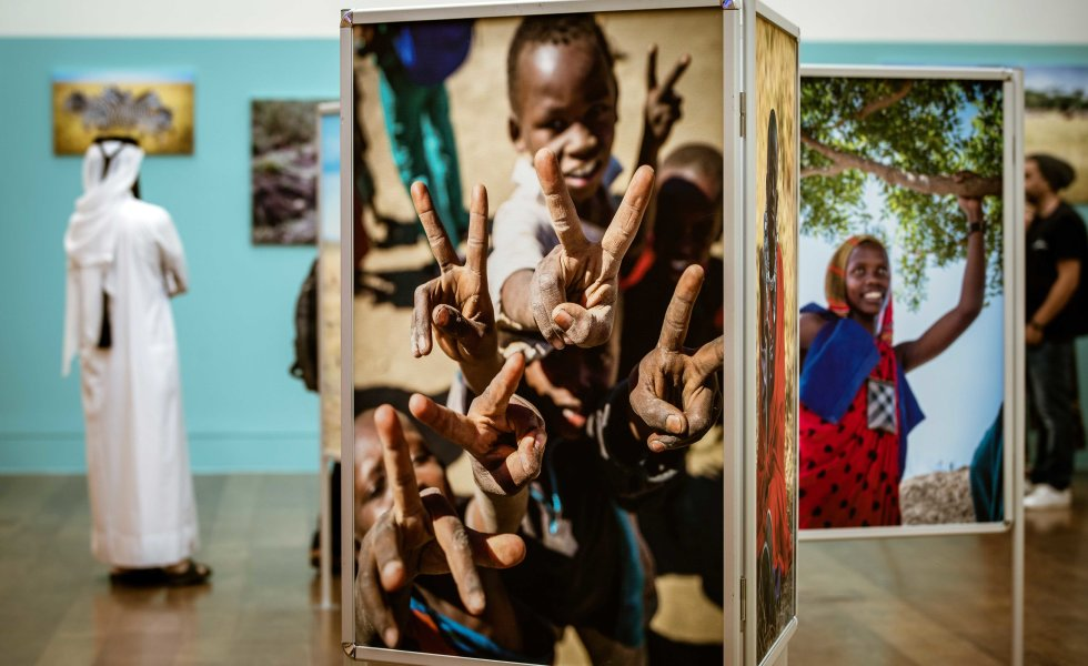 QF photo exhibition - Tanzanian community - 03