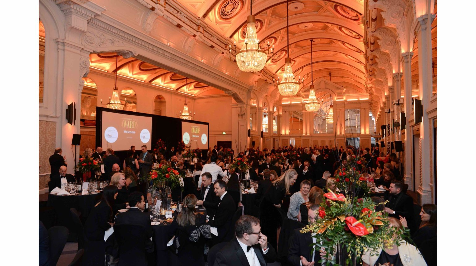 <p>The International School Awards Event 2020 at the De Vere Grand Connaught Rooms, London, United Kingdom.</p>