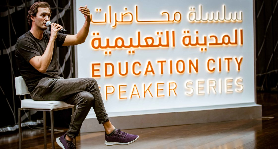 Education City Speaker Series - Jason Silva - 03