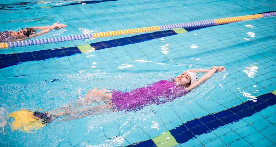 Swimming Class in Education City