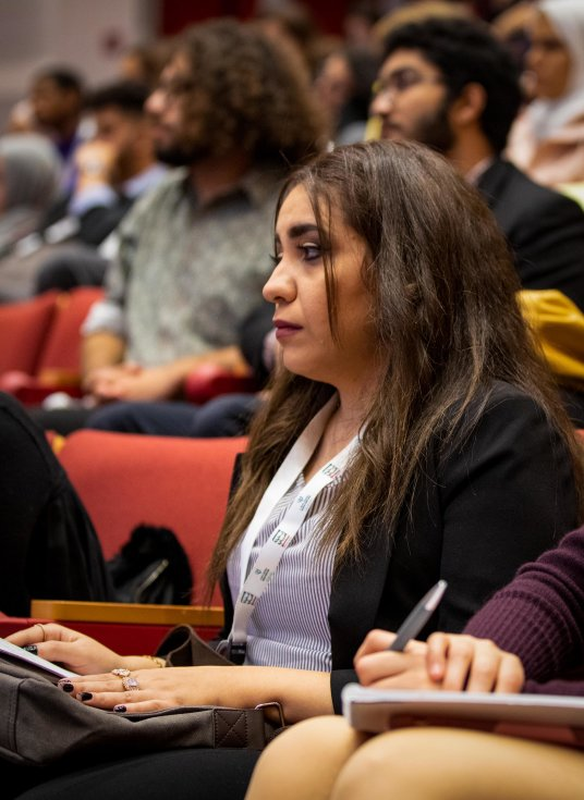 QF takes Arabic debating to the heart of top US university - v -2