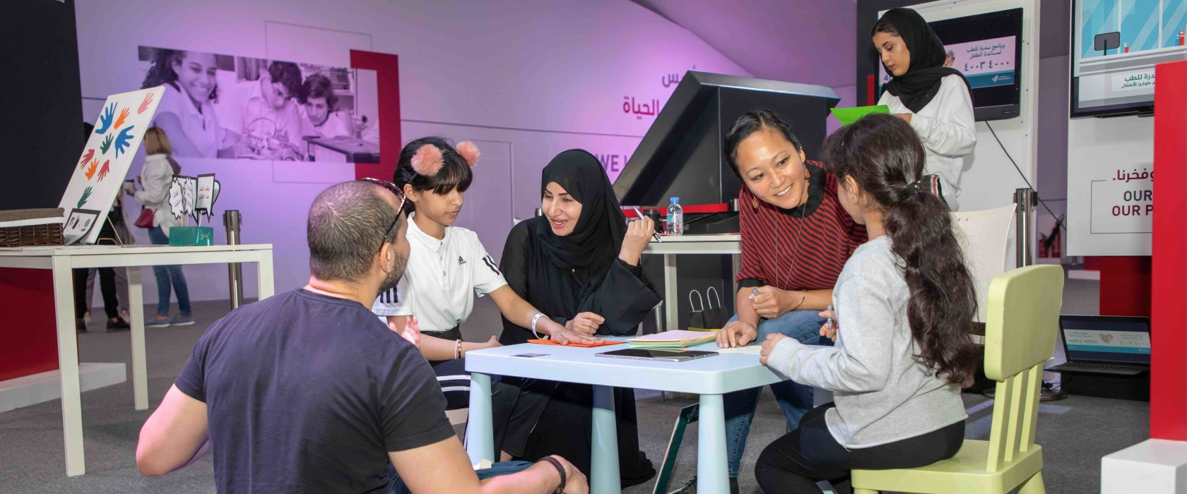 Child safety in focus at QF's Darb Al Saai tent
