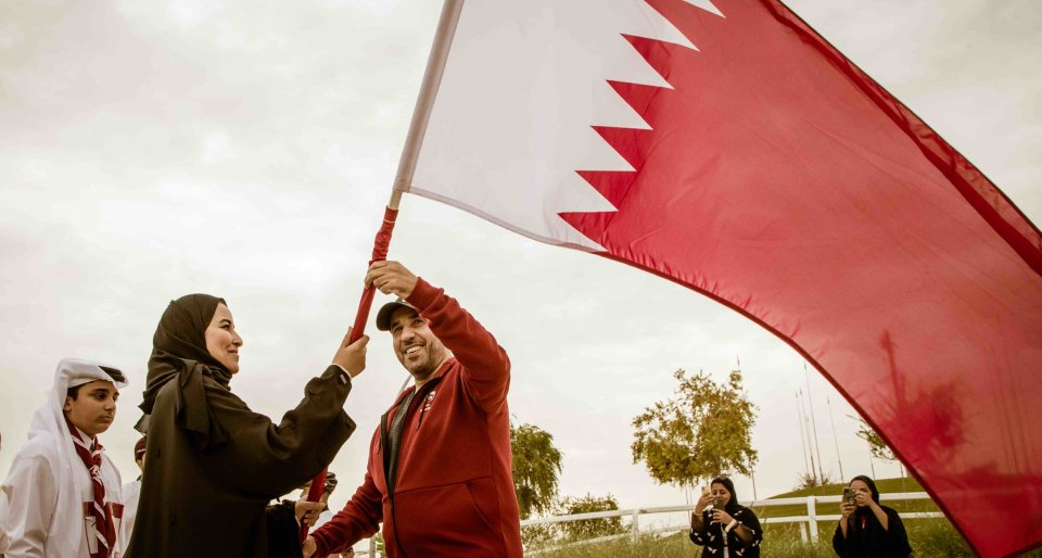 National unity and pride on display as QF hosts Team Qatar's Flag Relay