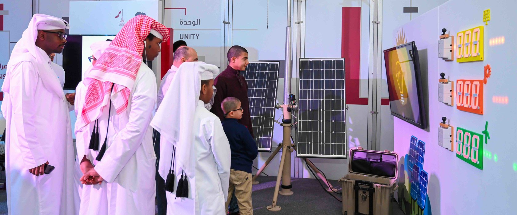 QF's Qatar National Day celebrations highlight the value of renewable energy
