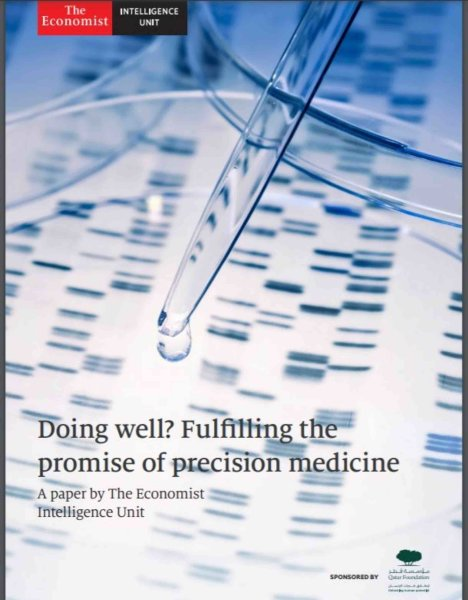 Produced in partnership with the Economic Intelligence Unit - Qatar Foundation launches precision medicine report at WISH - qf - vertical - 02