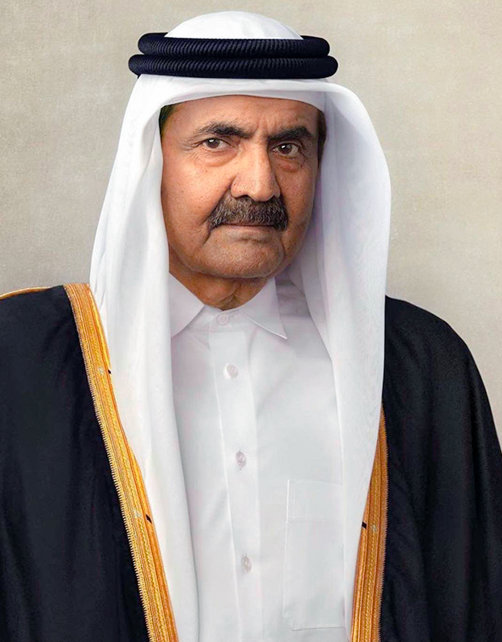 His Highness the Father Emir Sheikh Hamad Bin Khalifa Al Thani