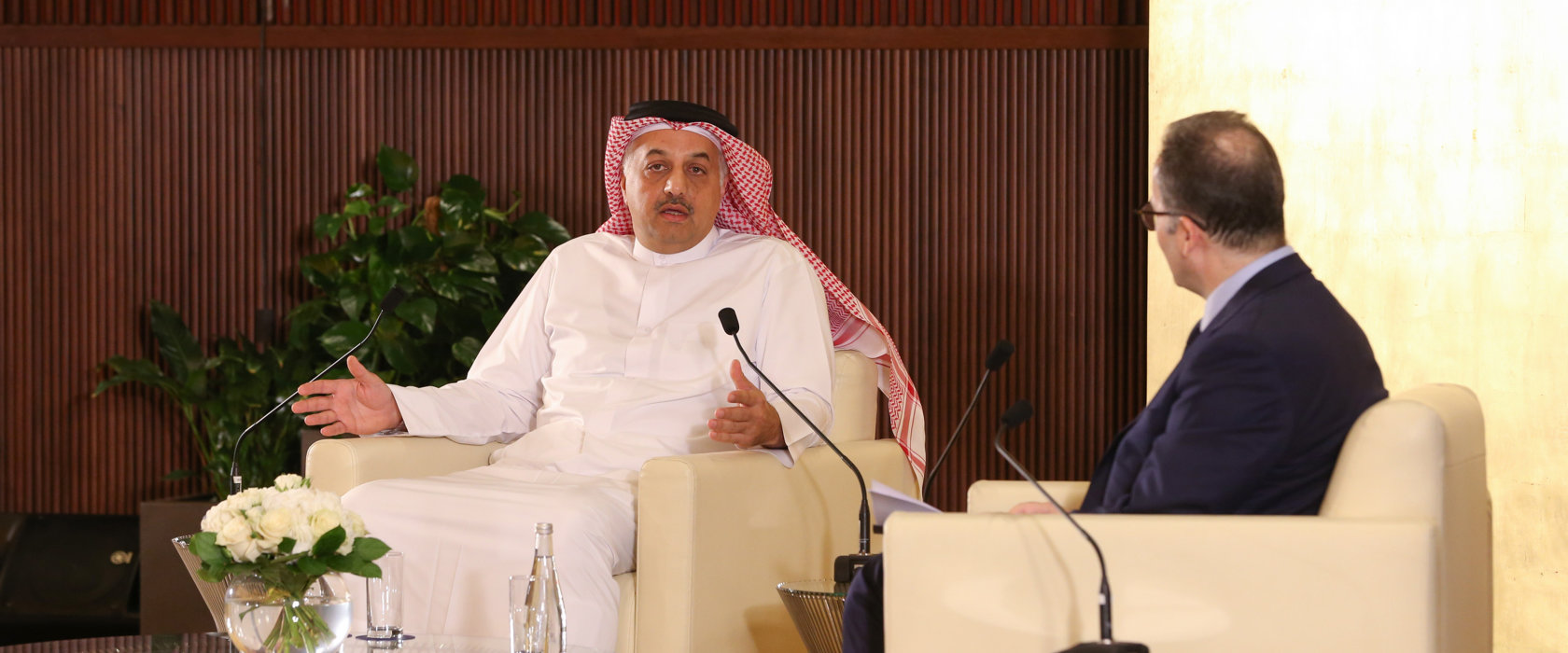HE Dr. Khalid bin Mohamed Al Attiyah hails Qatar's '1,000-day victory' over blockade at QF talk