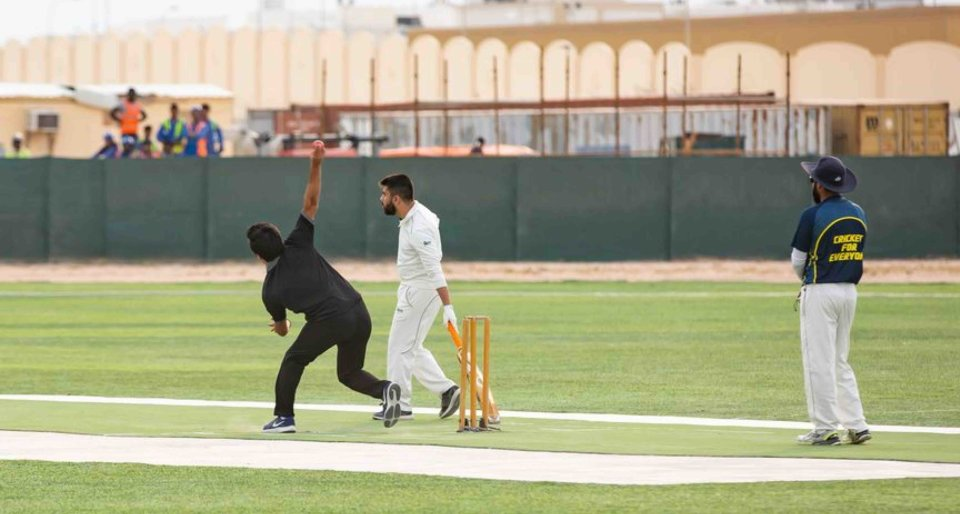 Cricket Class in Education City
