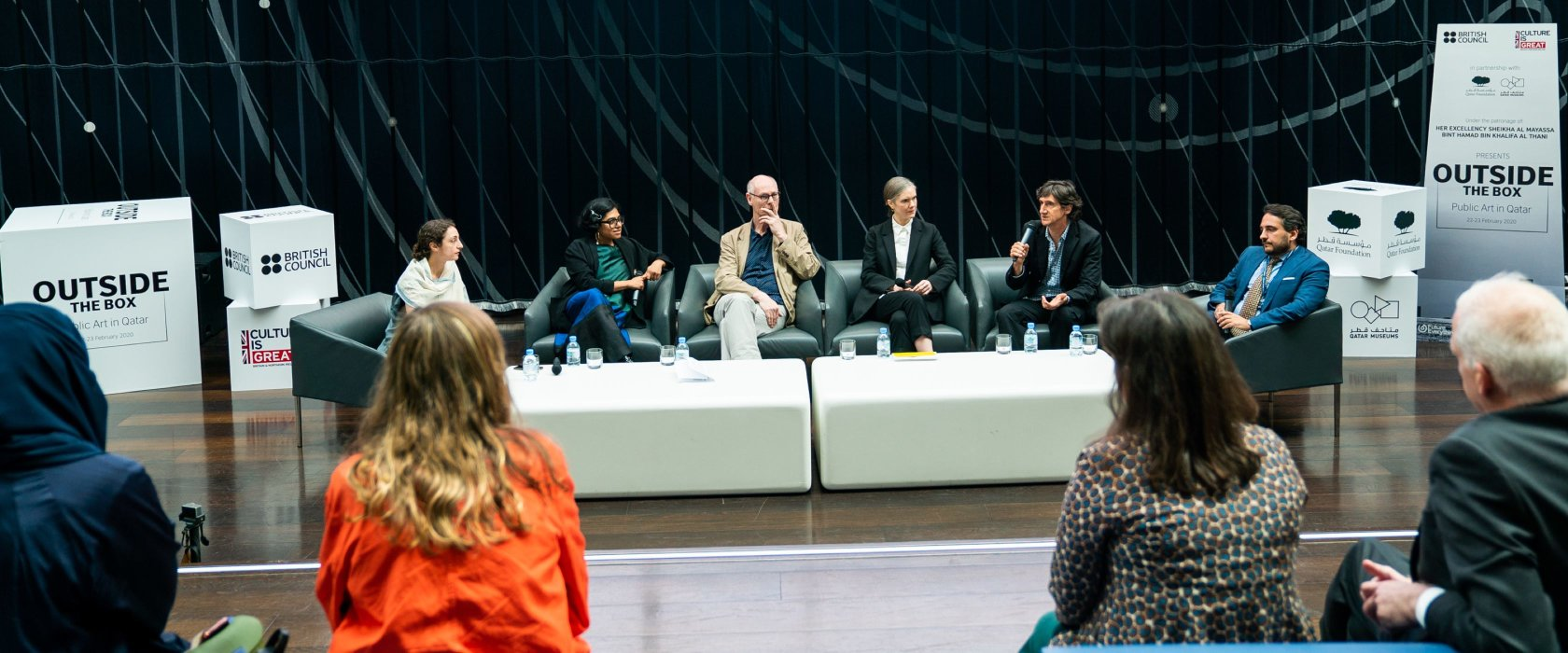 Experts explore the meaning and power of public art as QF hosts international forum