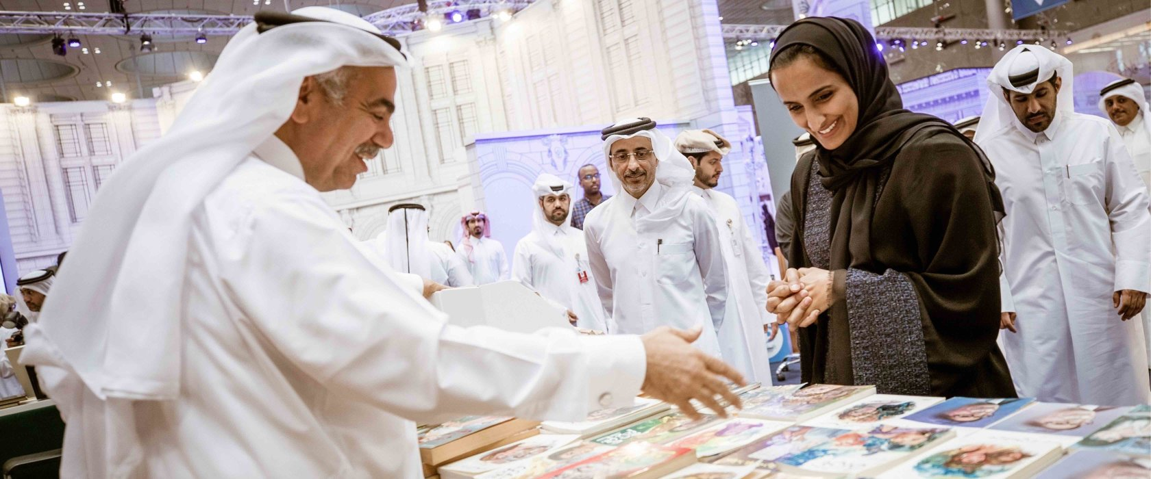 QF booths draw thousands at Doha International Book Fair