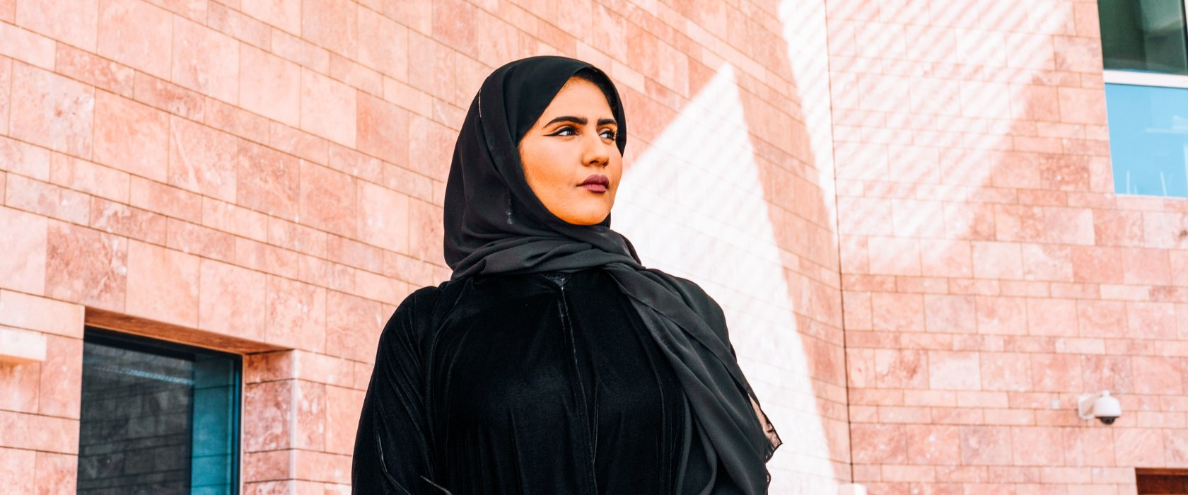 Why is Qatar's percentage of female engineering students double that of the US?