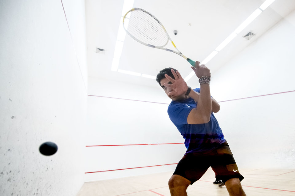 Squash Social in Recreation Centre