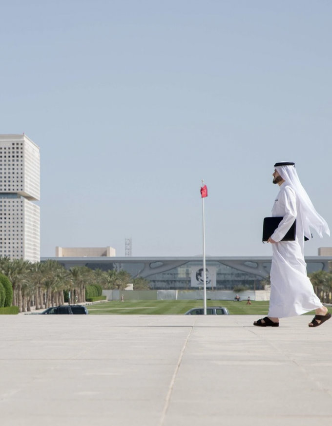 They tried to make Qatar an island. We built bridges through education
