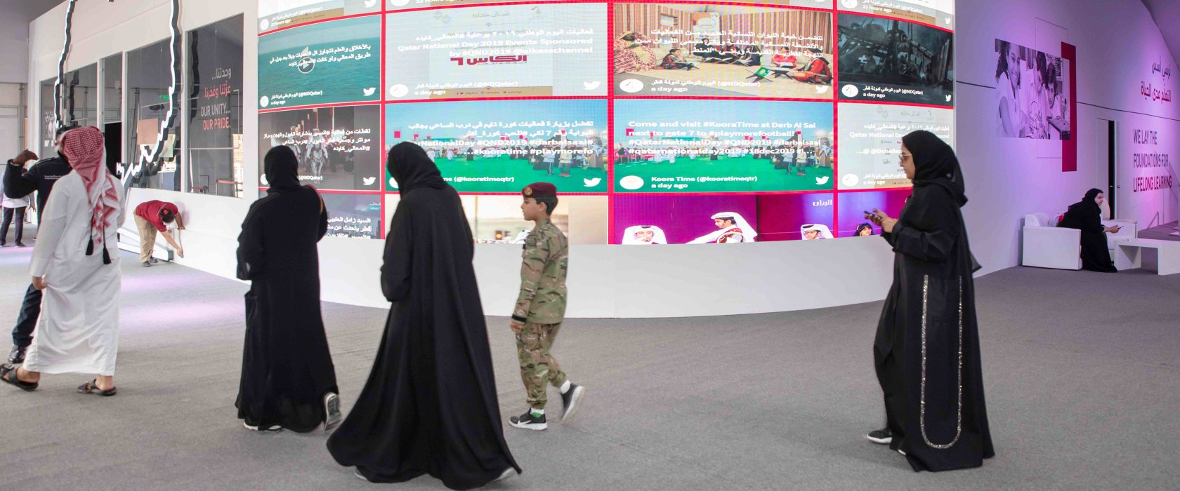 QF's Qatar National Day celebrations inspire a love of learning