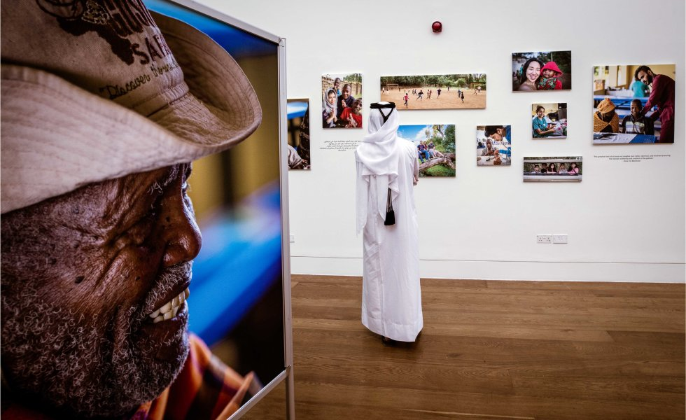 QF photo exhibition - Tanzanian community - 08