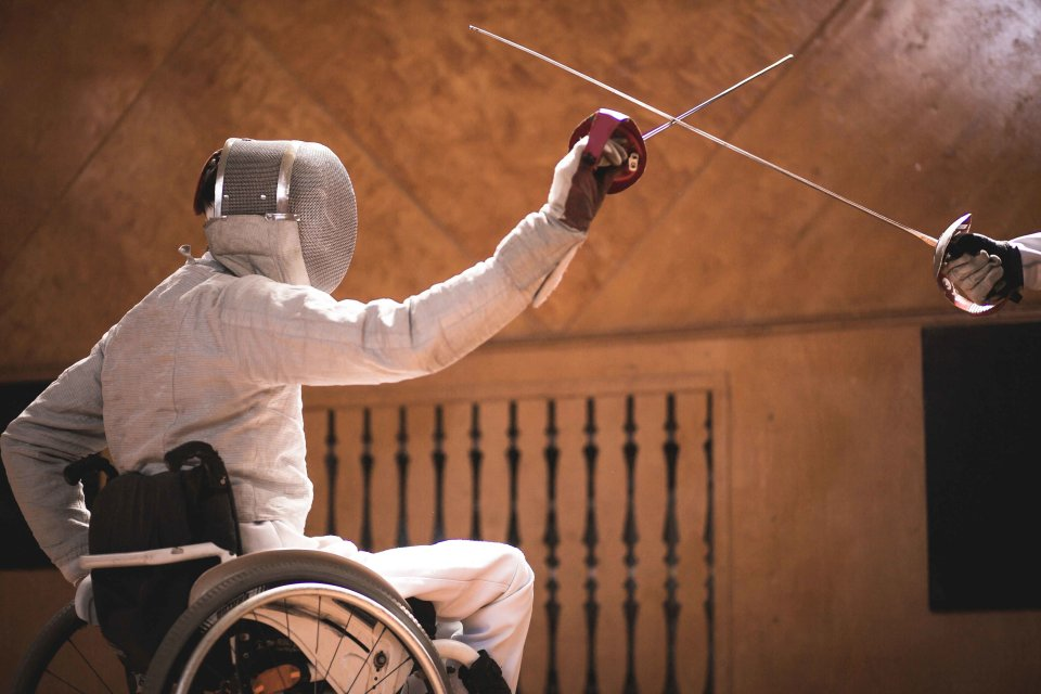 Wheelchair Fencing and Archery - Clement Academy and Ability Friendly Program