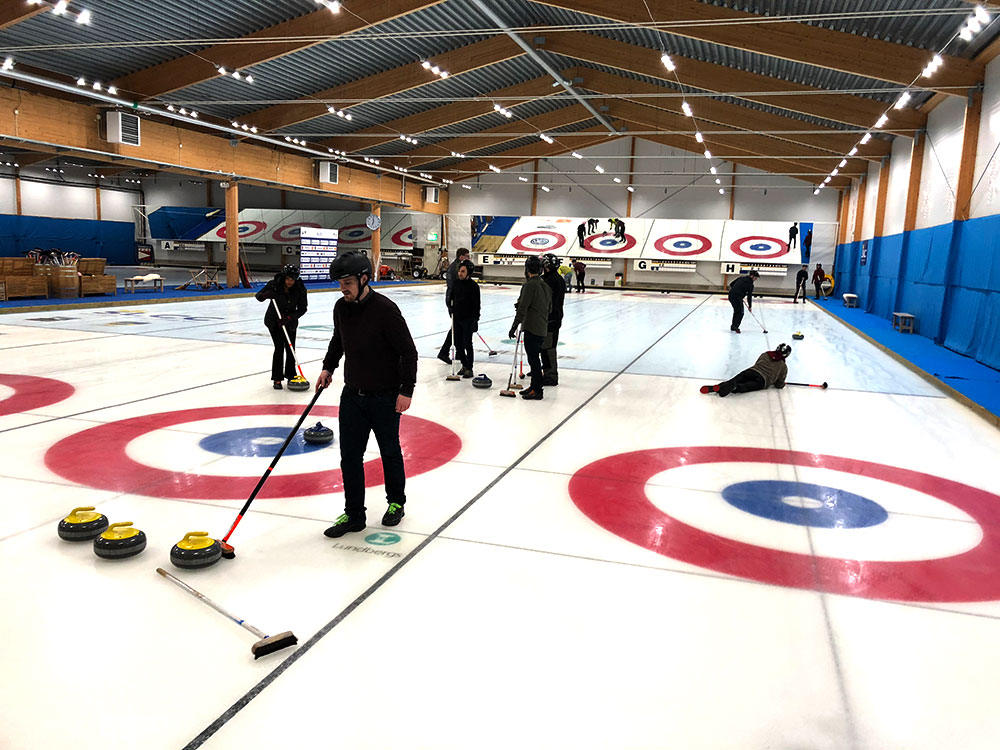Curling med Coronation