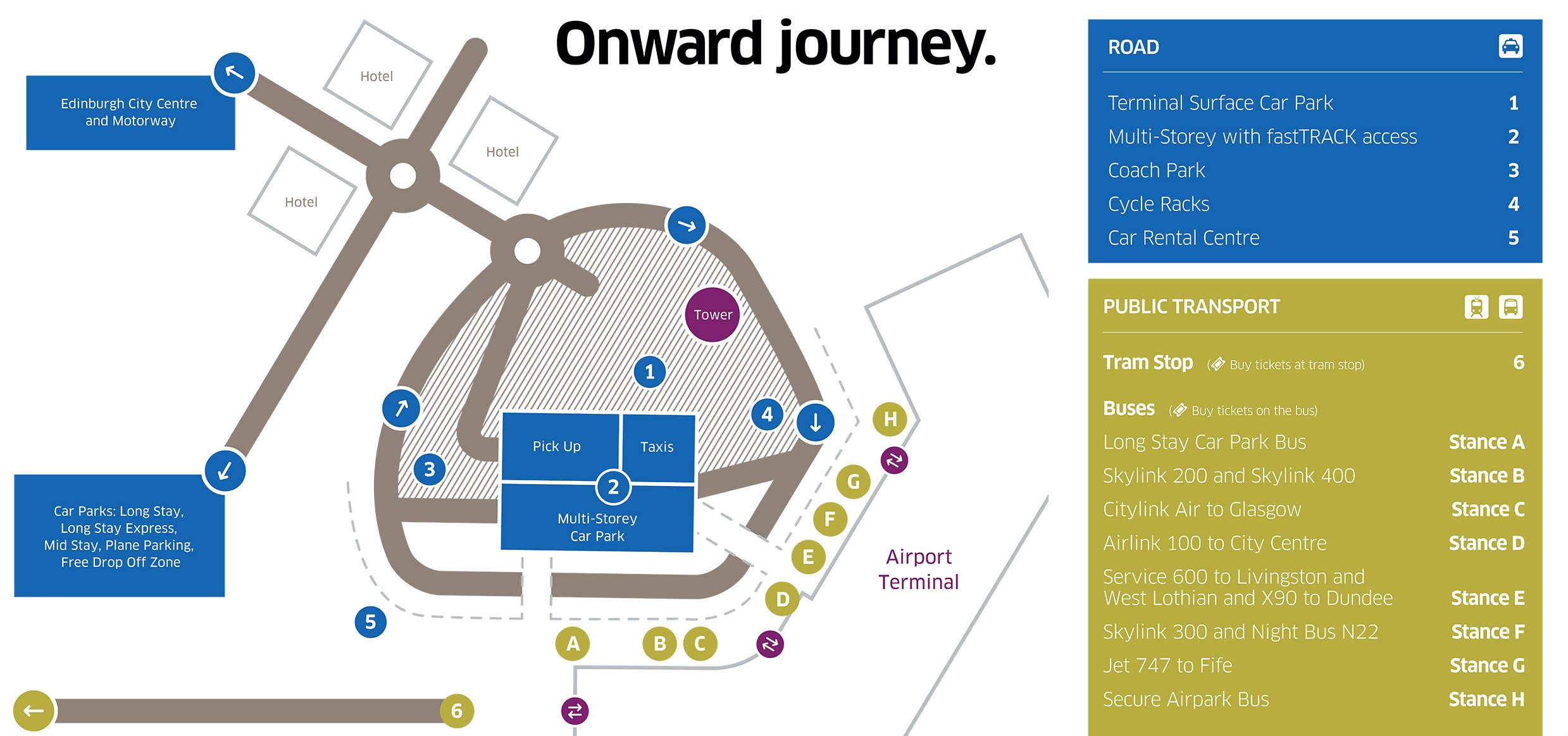 Onwards journey - campus map