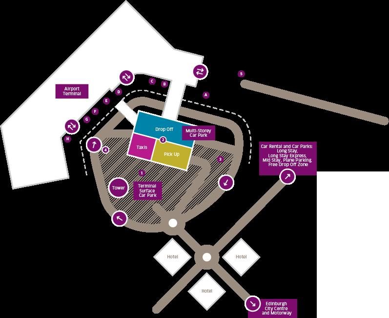 Drop Off Pick Up Edinburgh Airport
