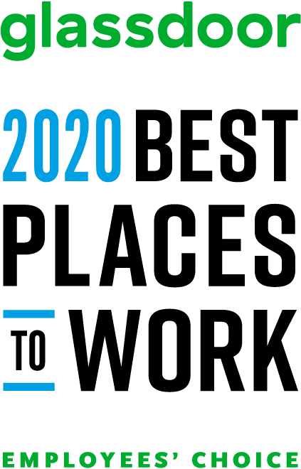 Glassdoor 2020 Best Place to Work Award
