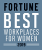 Fortune Best Workplace For Women 2019 Badge