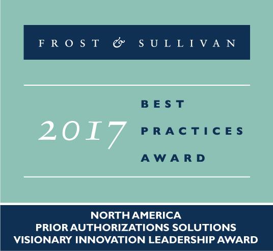 2017 Best Practices Award by Frost & Sullivan