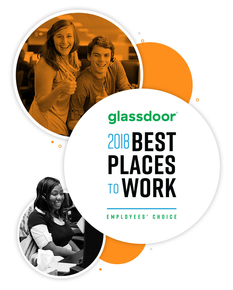 Glassdoor Best Place to Work 2017 Employees' Choice