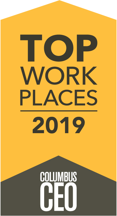 Columbus CEO 2019 Top Work Places Award
