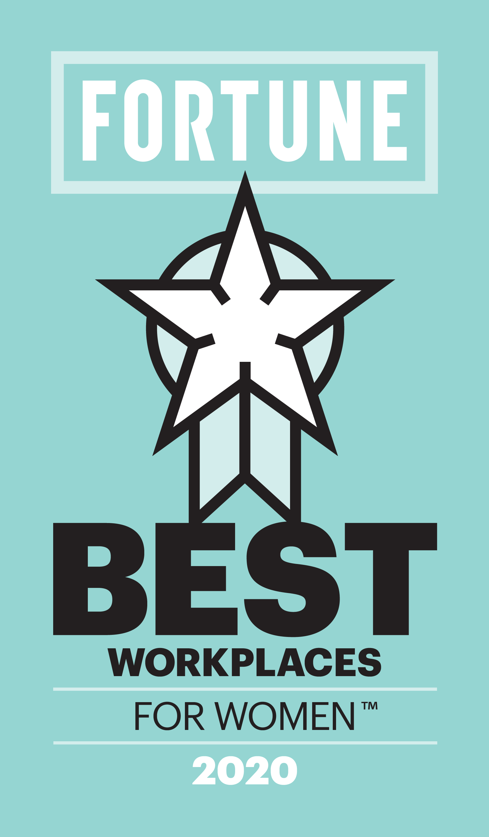 Fortune Best Workplace For Women 2020 Badge