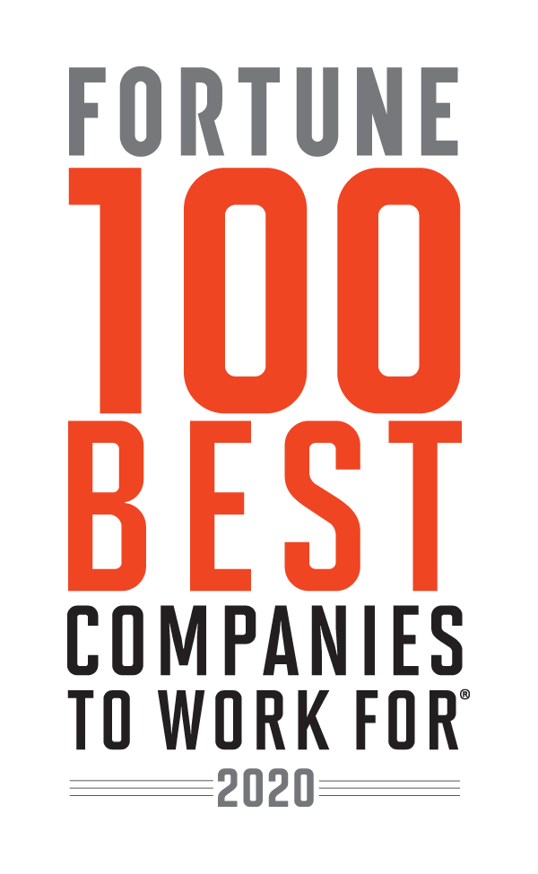 Fortune Best Companies to Work FOr 2020 Award